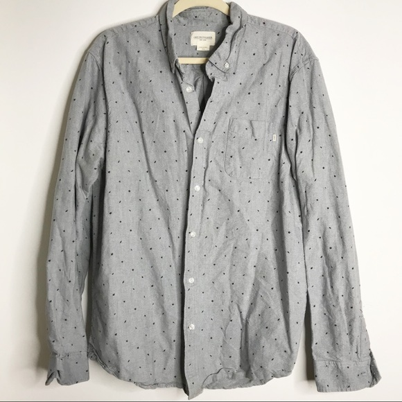 Obey Other - Obey Men's XL Button Down shirt Grey